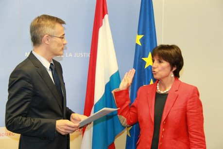 Martine Solovieff succède à Roby Biever au poste de Procureur général d'État  (Photo: ministère de la Justice)