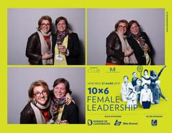 Christine Fornaroli (ILM) et Sophie Lafleur (Mandeleo) ((Photo: Photobooth.lu))