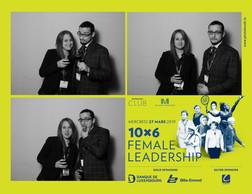 Marie  Bianchi et Lionel Ferlini (Huxley) ((Photo: Photobooth.lu))