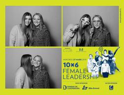 Rachel Reicher et Emma Kremer (Lycée de garçons Luxembourg) ((Photo: Photobooth.lu))