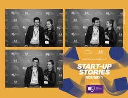 Guillaume Chatelain (Serpico) et Desislava Radeva (Accenture Luxembourg) ((Photo: Photobooth.lu))
