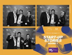 Jean-Yves Marié (Bim-Y), Guillaume Chatelain (Serpico) et Desislava Radeva (Accenture Luxembourg) ((Photo: Photobooth.lu))