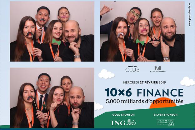 Alison Didier et Dominique Carbon (Talantlers), Namkhai Narankhuu (ING), Alexie Spangenberg (Groupe Castel) et Julien Lion photobooth.lu