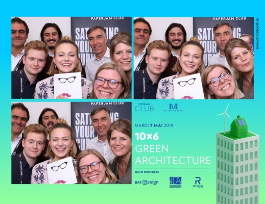 10x6 Green Architecture - Photobooth - 07.05.2019 (Photo: photobooth.lu)