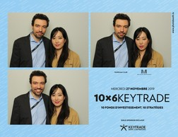 Paolo Perin et Minhee Song (Photobooth.lu)