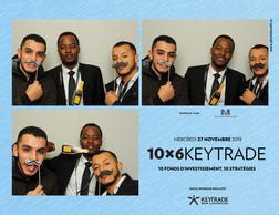 Amine El Kharzazi et Florent Kanda (Keytrade Bank Luxembourg) (Photobooth.lu)