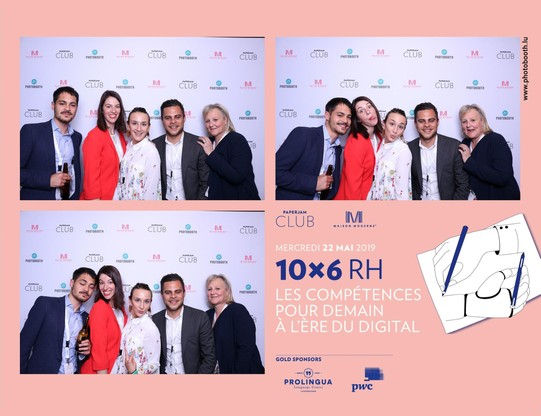 Robin Lyk, Margaux Dumas, Anouk Ruiz et Jordan Lyk (Maltem Consulting Group) (Photo: photobooth.lu)