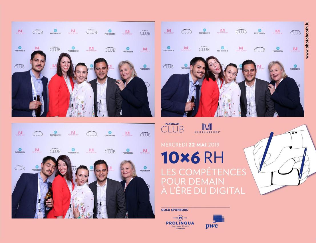 Robin Lyk, Margaux Dumas, Anouk Ruiz et Jordan Lyk (Maltem Consulting Group) (Photo: photobooth.lu)
