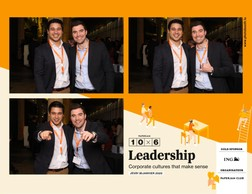 Jordan Touati (IWG group) et Guillaume Bauer (DeLux Fund Recruitment) ((Photo: photobooth.lu))