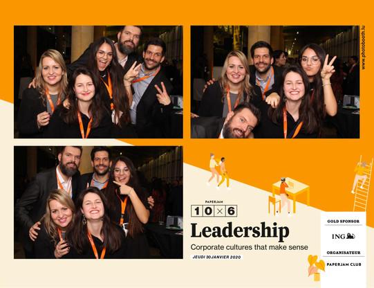 10x6 : Leadership Photobooth - 30.01.2020 (Photo: photobooth.lu)