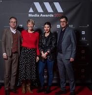 Boris Fuge, Jessica Koeune, Anne Hoffmann et Guy Themse (2 Musées) ((Photo: Nader Ghavami))