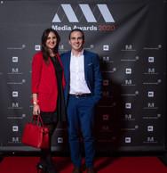 Laura Garcia (IEE) et Robert Ilarduya (ArcelorMittal) ((Photo: Nader Ghavami))