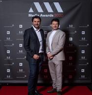 Giani De Tommaso (Proximus) et Daniel Rinaldis (Agence Fare) ((Photo: Nader Ghavami))