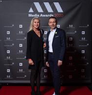Simône van Schouwenberg (BCEE) et Christophe Salden (VOUS Agency) ((Photo: Nader Ghavami))