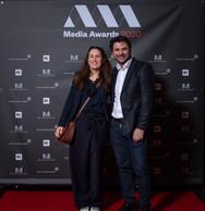 Sonia Hoffmann (Moskito) et Giani De Tommaso (Proximus) ((Photo: Nader Ghavami))