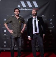 François Leclerc et David Solito (VOUS Agency) ((Photo: Nader Ghavami))