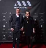 Christophe Mathden et Martine Funk (Creos) ((Photo: Nader Ghavami))