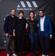 Dan Neven (Apart), Daniela Arede (Ceratizit), Susanne Folschette (Centre Medical Merl) et Claude Folschette (Apart) ((Photo: Nader Ghavami))