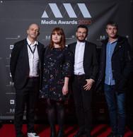 Alain Cunis, Paloma Biancato, Adrien Schuster et Gauthier Gobert (Binsfeld) ((Photo: Nader Ghavami))