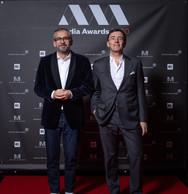 Mike Koedinger et Dan Schneider (Maison Moderne) ((Photo: Nader Ghavami))