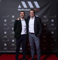 Richard Karacian (Maison Moderne) et Christophe Goossens (RTL) ((Photo: Nader Ghavami))
