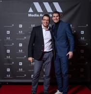 À gauche, Christophe Goossens (RTL) ((Photo: Nader Ghavami))