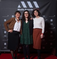 Delphine François, Anaïs Masson et Nadia Azarfane (Général Lux) ((Photo: Nader Ghavami))