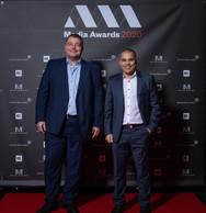 Claude Werner et Sergio Rodrigues (BCEE) ((Photo: Nader Ghavami))