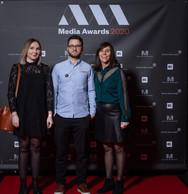 Julie Courrier, Benjamin Brigidi et Géraldine Gij (Concept Factory) ((Photo: Nader Ghavami))