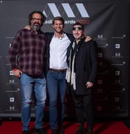 Gilles Konsbruck (Promusik), Julien Cliquet (Julien Cliquet Art Culinaire) et Dany Lucas ((Photo: Nader Ghavami))