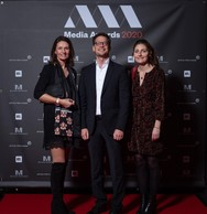 Pascale Kauffmann, Lou Weis et Clémence Desbonnet (Apollo Strategists) ((Photo: Nader Ghavami))