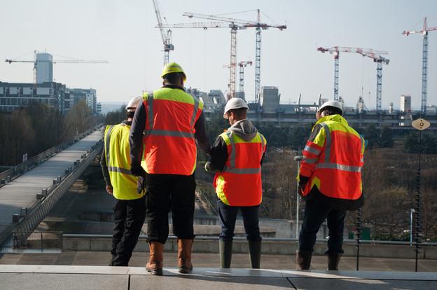 La valeur ajoutée de la construction est en légère baisse de 0,2% par rapport au trimestre précédent. (Photo: Shutterstock)