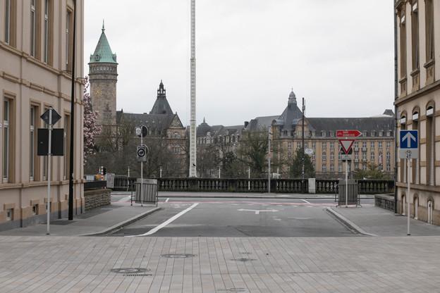 Malgré deux mois et demi de confinement au printemps2020, le Luxembourg parvient à limiter le recul de sa croissance sur l'ensemble de l'année. (Photo: Matic Zorman/archives Maison Moderne)