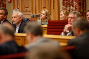 La ministre de l'Intérieur et ministre de l'Égalité entre les femmes et les hommes, Taina Bofferding. ((Photo: Romain Gamba/Maison Moderne))