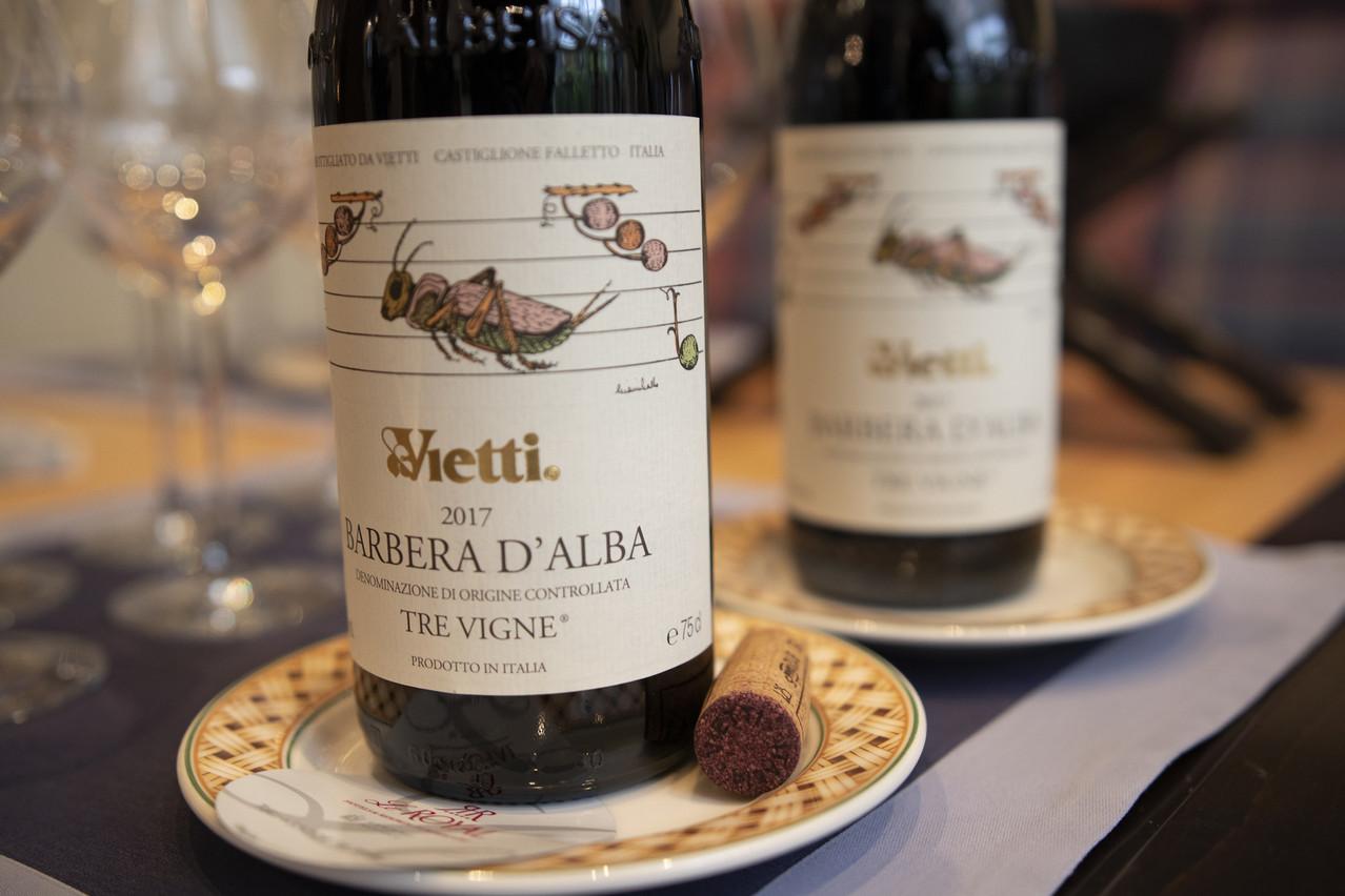 Les vins du domaine Vietti font honneur à leur superbe terroir piémontais. Hôtel Le Royal