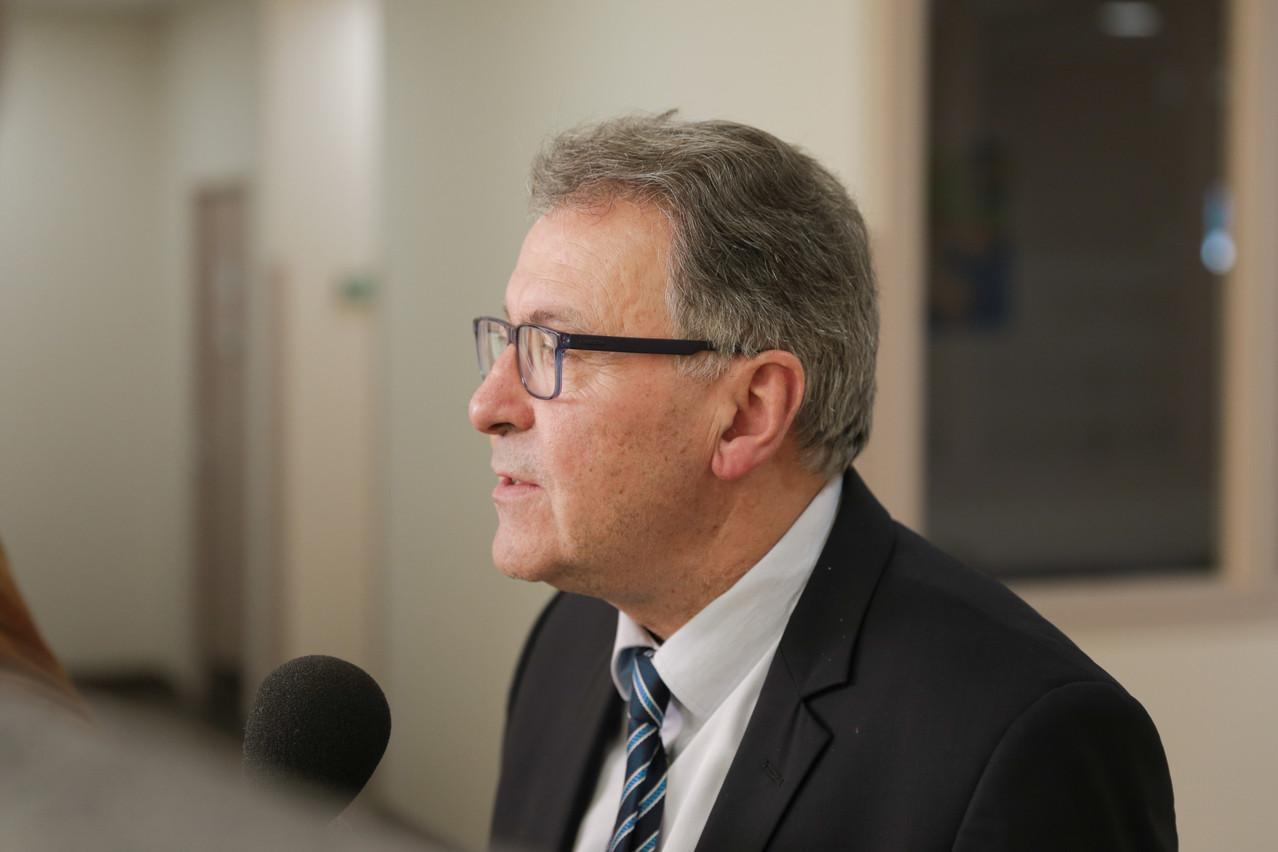 Pierre Cuny aimerait que les impôts des télétravailleurs servent au développement de projets frontaliers, comme un RER entre Nancy et Luxembourg, par exemple. (Photo: Romain Gamba/Maison Moderne)
