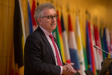 Le ministre des Finances Pierre Gramegna sera occupé par l'actualité financière européenne ces prochains jours. (Photo: Matic Zorman/archives)
