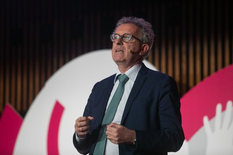 Le ministre des Finances Pierre Gramegna accompagne une mission de Luxembourg for Finance en Espagne. (Photo: Matic Zorman/Archives)
