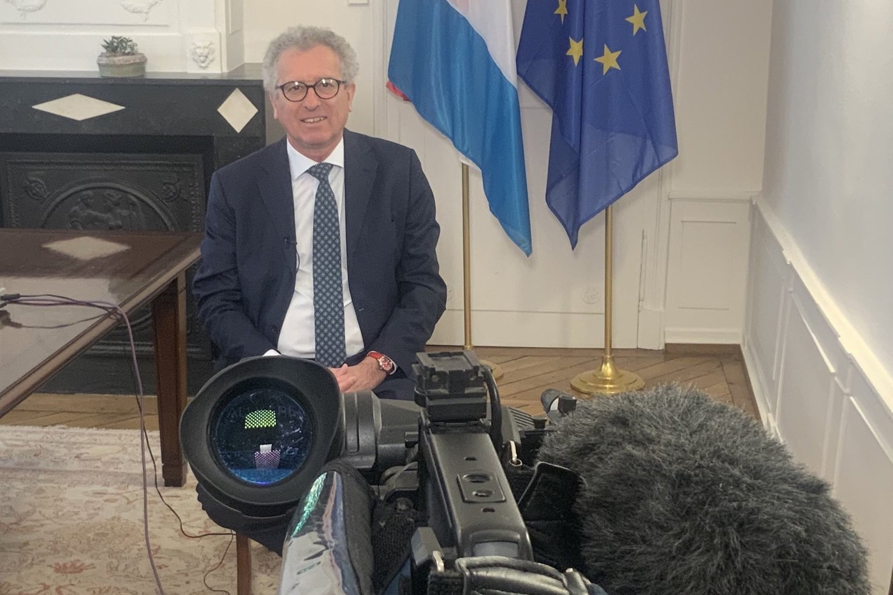 Pierre Gramegna, ministre des Finances, s'est dit favorable aux «coronabonds», dans une interview accordée le vendredi 3 avril à CNBC. (Photo: Twitter/@pierregramegna)