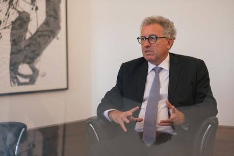Dans une interview au Wort,Pierre Gramegna estime que l'Eurogroupe aurait besoin d'évoluer vers davantage de «transparence sur ses résultats». (Photo: Sébastien Goossens/Archives)