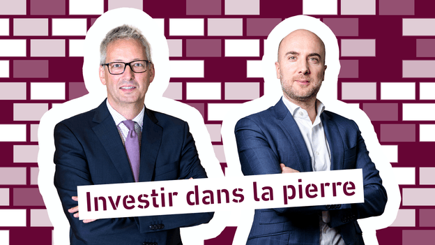 Romain Wehles, Directeur de la Spuerkeess, et Tehdi Babigeon, Partner & Head of Capital Market and Business Development au sein d'INOWAI Montage: Maison Moderne