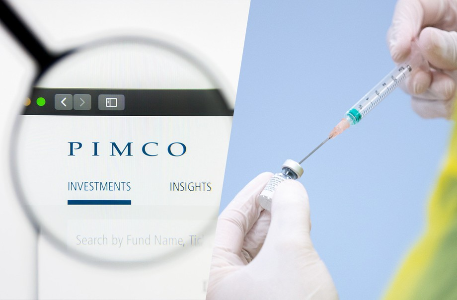 The American financial company Pimco is expecting its employees to be vaccinated before coming to the office, including in its operations in the grand duchy. Photos: Shutterstock and Maison Moderne. Montage: Maison Moderne