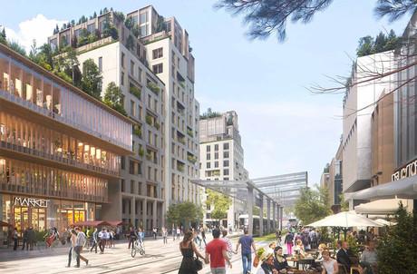 Le projet de réaménagement de la place de l'Étoile. (Photo: DR)