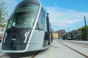 Le tramway luxembourgeois devrait connaître sa prochaine extension d'ici la fin de l'année en arrivant à la gare. ((Photo: Matic Zorman/Maison Moderne))