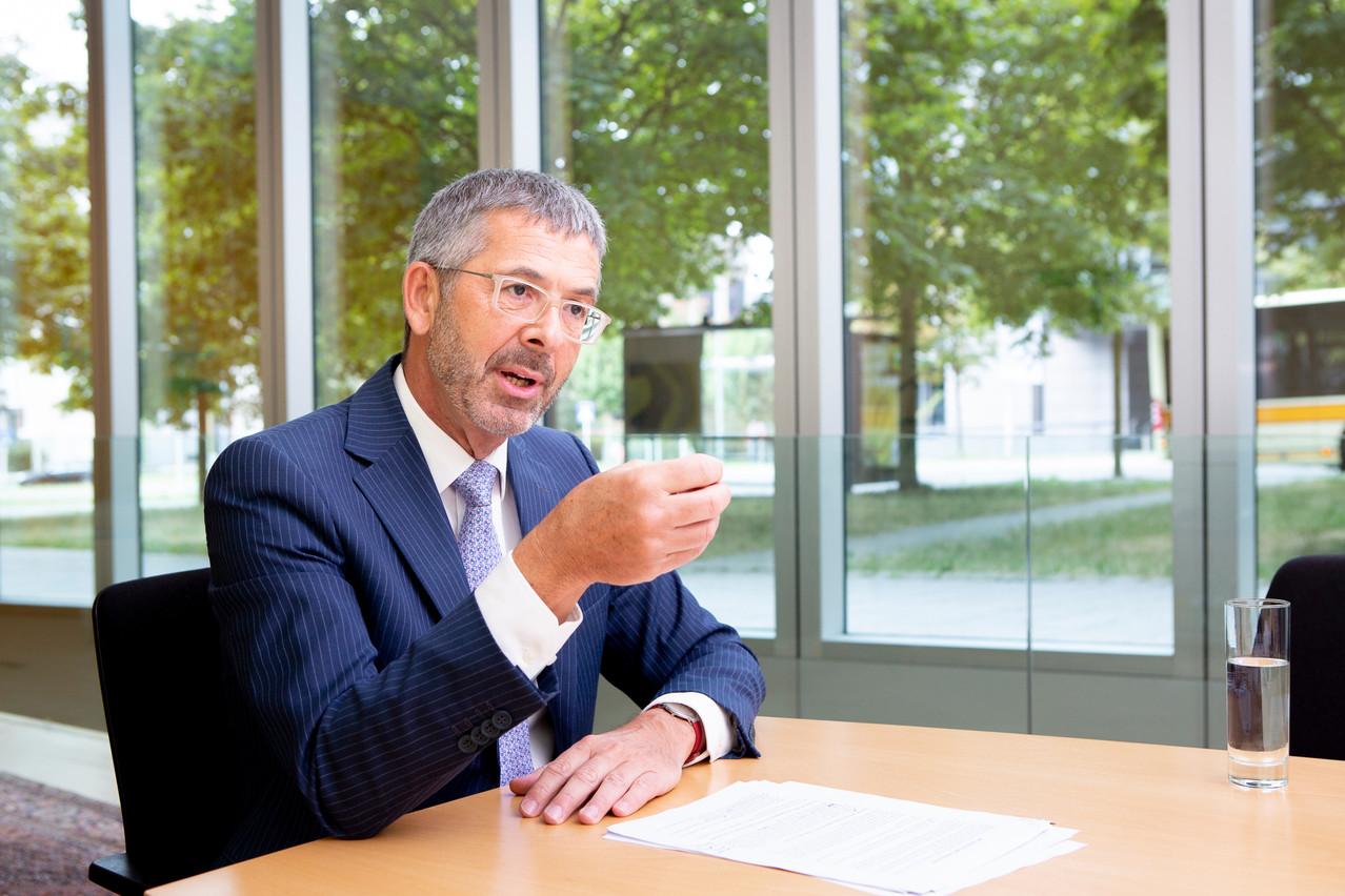 Serge de Cillia, CEO de l'ABBL, va activer le lobbying de la fédération. (Photo: Maison Moderne)