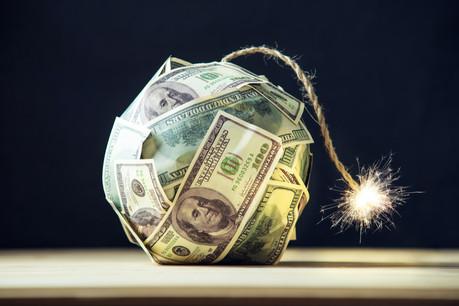 Entre mars2020 et mars2021, la dette fédérale américaine est passée de 23.200milliards de dollars à 28.000milliards.  (Photo: Shutterstock)