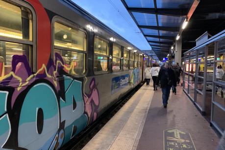 Les frontaliers français doivent composer depuis début janvier avec des horaires modifiés et la nécessité de changer de train à Thionville, puisque les rames équipées du système ERTMS sont trop peu nombreuses. Certains trains de remplacement peuvent également surprendre. (Photo: Archives Maison Moderne)