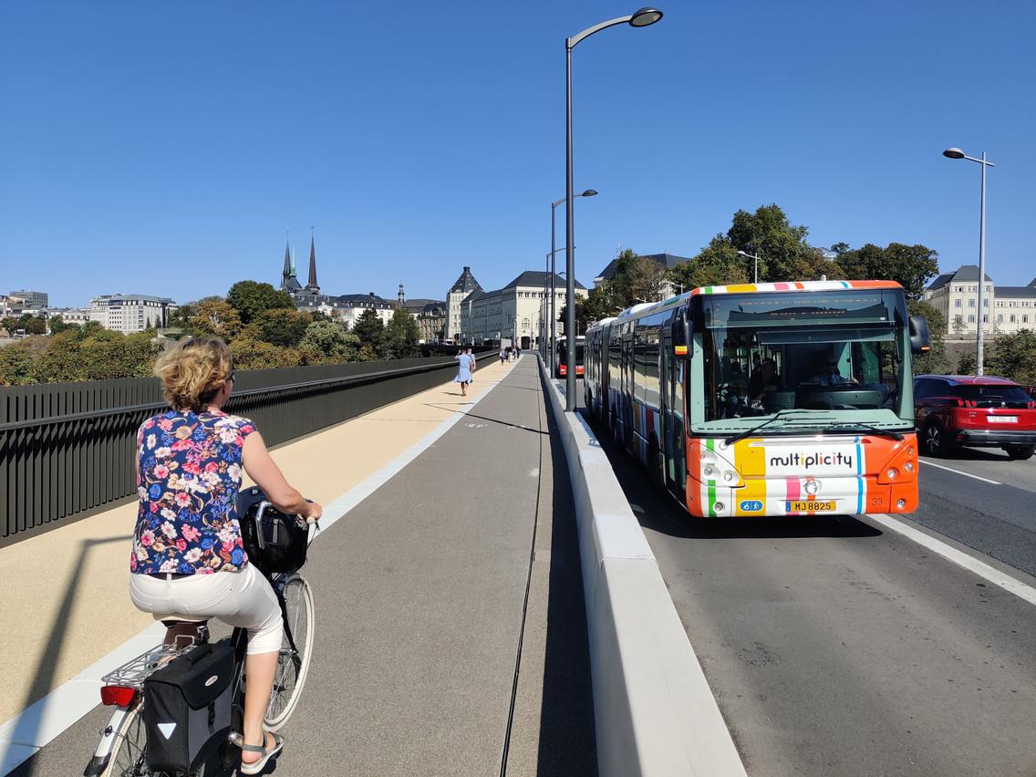 Quatre lignes de bus sont renforcées dès ce lundi en heures de pointe à Luxembourg-ville. (Photo: Paperjam)