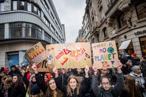 Des milliers de jeunes manifestants étaient dans les rues de Luxembourg pour dénoncerun «immobilisme politique» face à la «crise environnementale». (Nader Ghavami)