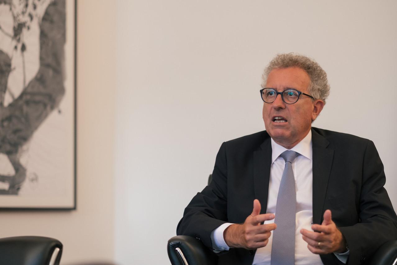 PierreGramegna dit retrouver des eaux plus calmes au niveau des finances publiques. (Photo: SG9LU/archives)